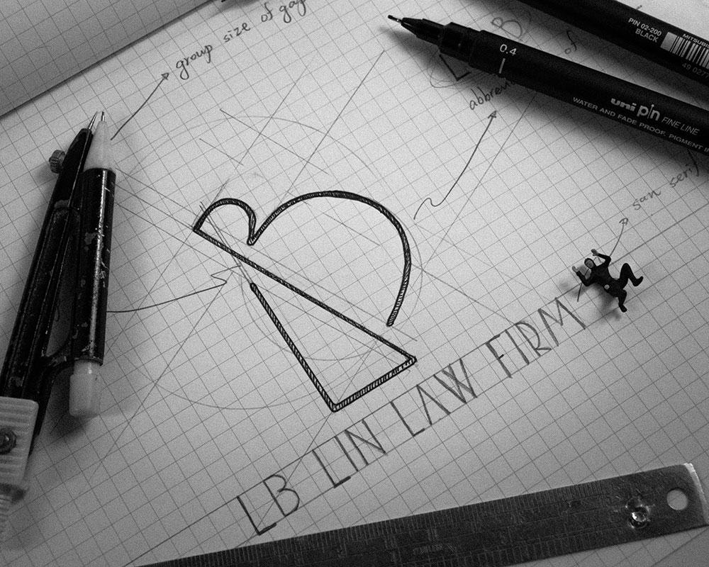 LB logo設計