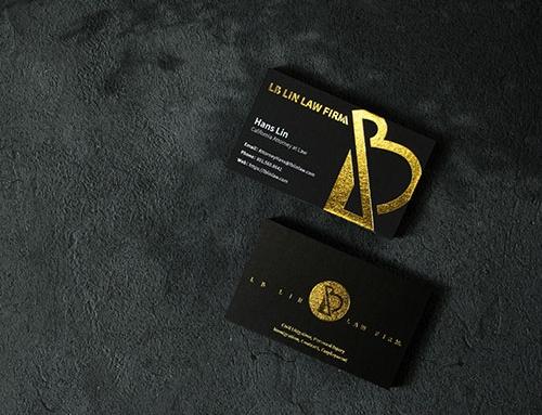 【你從沒想過的印刷之美】律師名片設計-LB LIN LAW FIRM