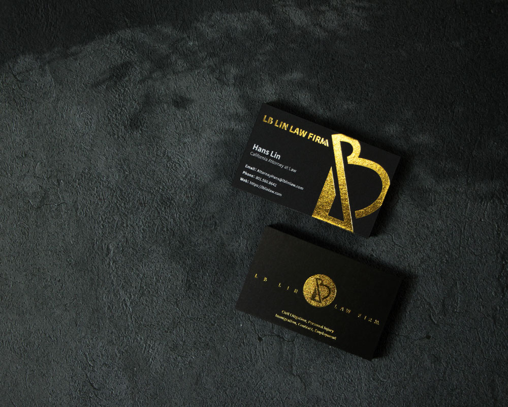 LB Lin Law 名片設計 namecard design