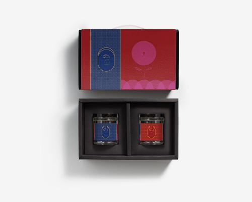 果醬玻璃罐包裝盒 | 馨意 | 附提把 | 果醬包裝設計