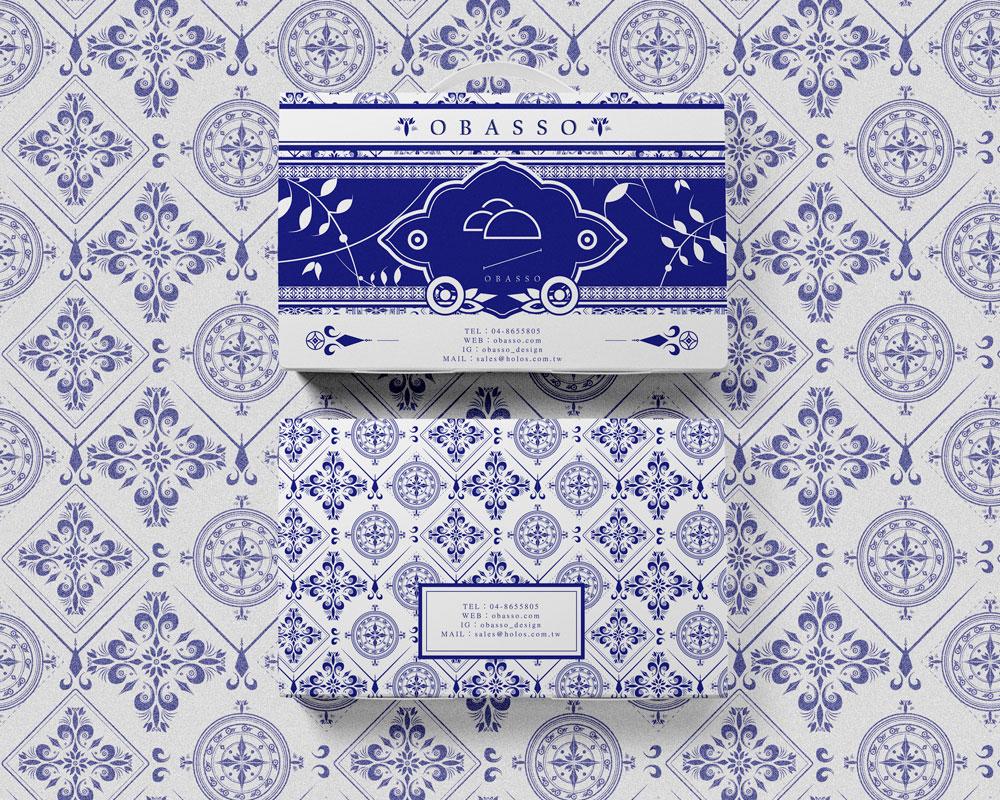 1mimi的月餅盒設計   青花瓷   可裝100g吸塑盒   綠豆椪   蛋黃酥