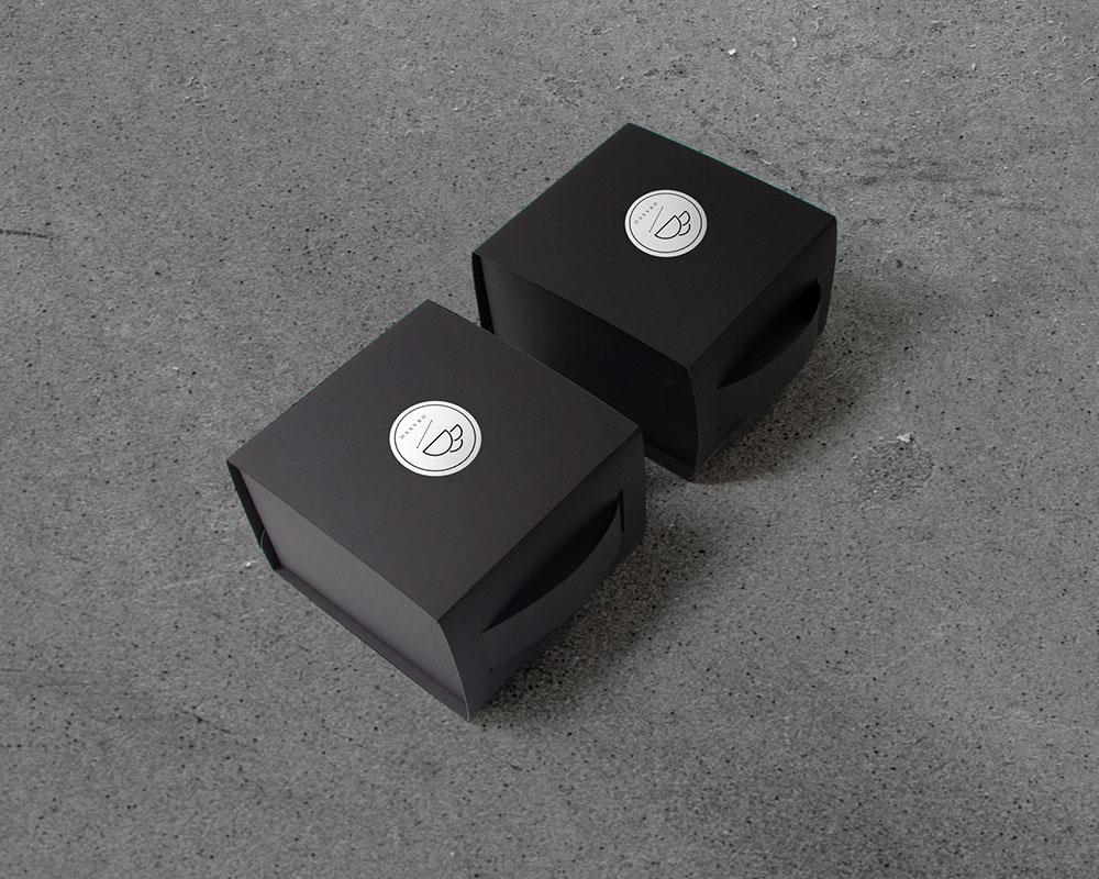 1mimi的 濾掛咖啡盒設計 | OLULU極致黑 | 濾掛10入盒 | 附提把免紙袋