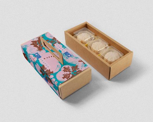 鳳梨酥糕餅禮盒設計 | 泥泥雪人情 | 濾掛咖啡 | 附提把免紙袋