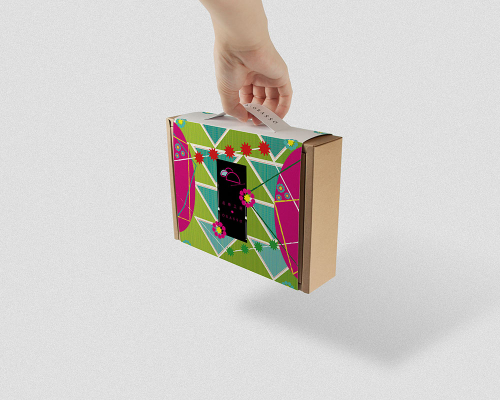 鳳梨酥糕餅禮盒設計 | 爆炸吧!聖誕節 | 濾掛咖啡 | 附提把免紙袋