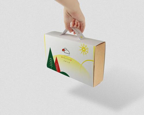 掛耳式咖啡盒設計 | 冬日初春 | 濾掛咖啡 | 附提把免紙袋